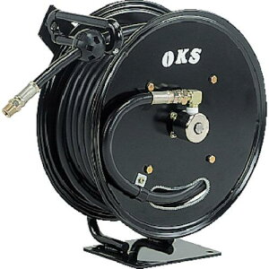 OKS 高圧ホースリール 耐圧20.5MPaオートマティックリール(ホースなし) 〔品番:HSP-12AT〕[1341748]「送料別途見積り,法人・事業所限定,取寄」