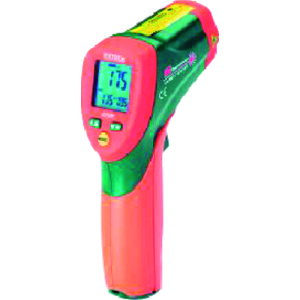 タスコ デュアルレーザー放射温度計 〔品番:TA410EY〕[1456464]「送料別途見積り,法人・事業所限定,取寄」