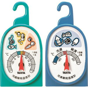 TANITA 冷凍・冷蔵庫用温度計 5497 〔品番:5497〕[1488242]