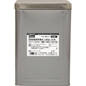 TRUSCO 石灰乾燥剤 (耐水、耐油包装) 100g 90個入 1斗缶 〔品番:TSKK-100-18L〕[1497861]「法人・事業所限定,直送元」
