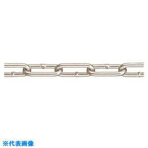 水本 強力アルミチェーン AL−5 長さ・リンク数指定カット 12.1〜13m 〔品番:AL-5-13C〕