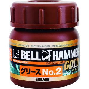 ベルハンマー 超極圧潤滑剤 LSベルハンマーゴールド グリースNo.2 50ml 〔品番:LSBHG16〕[1610128]