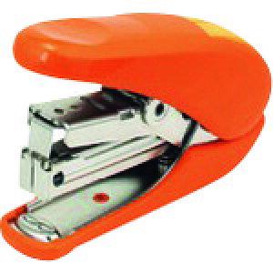 プラス ホッチキスかるヒット ST−010A オレンジ (30962) 〔品番:ST-010A〕[1957012]「送料別途見積り,法人・事業所限定,取寄」