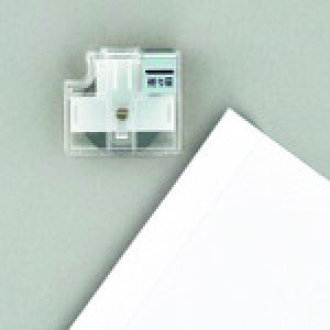 プラス スライドカッターハンブンコ 替刃 折り目 (26476) 〔品番:PK-800H3〕[1969486]「送料別途見積り,法人・事業所限定,取寄」