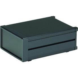 タカチ メタルシステムケース ブラック 〔品番:MS99-21-35B〕[1973839]「法人・事業所限定,直送元」