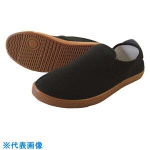 喜多 かかとが踏める作業靴 ブラック 27.0 〔品番:DK230-BK-27.0〕[2150641]「送料別途見積り,法人・事業所限定,取寄」