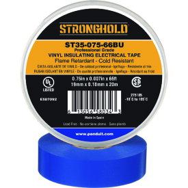 ストロングホールド StrongHoldビニールテープ 耐熱・耐寒・難燃 プロ仕様グレード 青 幅19.1mm 長さ20m ST35−075−66BU 《20個入》〔品番:ST35-075-66BU〕[2167612×20]「送料別途見積り,法人・事業所限定,取寄」