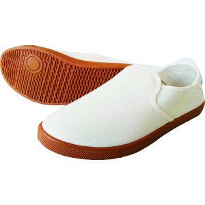 喜多 かかとが踏める作業靴 ホワイト 28.0 〔品番:DK230-WH-28.0〕[2168125]「送料別途見積り,法人・事業所限定,取寄」