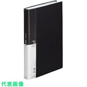 リヒト 名刺ホルダー640カード Card EX・S 黒 A4 〔品番:A946.BLACK〕[2274409]1100