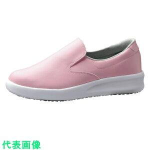ミドリ安全 超耐滑作業靴 ハイグリップ・ザ・フォース NHF−700 ピンク 21.5cm 〔品番:NHF-700-PK-21.5〕[2472692]「送料別途見積り,法人・事業所限定,取寄」