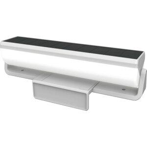 ライテックス 明かりセンサー付 ソーラー外壁・フェンスライト 〔品番:S-C1000L〕[2522612]
