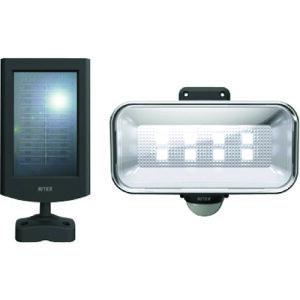 ライテックス 5Wワイドフリーアーム式LEDソーラーセンサーライト 〔品番:S-50L〕[2709716]