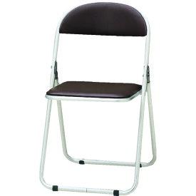 TOKIO パイプ椅子 シリンダ機能付 アルミパイプ ブラウン 〔品番:CF-700-BR〕[2985195]