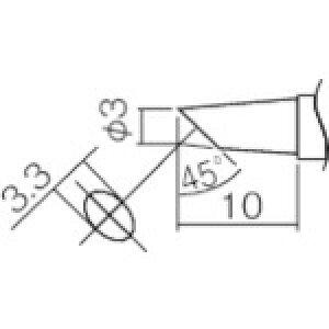 白光 こて先 3BC型(Z) 〔品番:T12-BC3Z〕[2985667]
