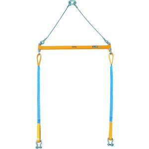 スーパー 2点吊用天秤 容量:500kg スパン長:800mm 〔品番:PSB508〕[3812839]