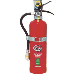 HATSUTA 蓄圧式粉末消火器 自動車用4型 〔品番:PEP-4V〕[3907953]