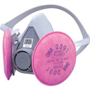 3M 取替式防じんマスク 6000/2091−RL3 Mサイズ 〔品番:6000/2091-RL3M〕[3990346]