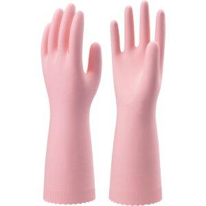 ショーワ ニトリルゴム手袋 ナイスハンドエクストラ薄手 ピンク Sサイズ 〔品番:NHEXU-SP〕[4092252]