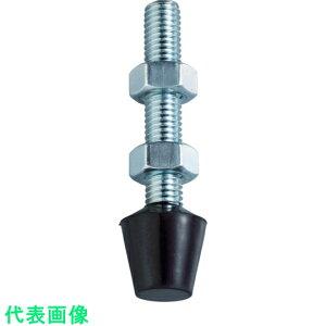 スーパー ボルト・ナット(ゴムヘッド付) ねじM6×P1.0mm 〔品番:TNG0644〕[4094344]