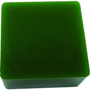 エクシール 防振・緩衝ブロック ゲルダンパー 緑 100X100mm 〔品番:GD50-100〕[4105958]