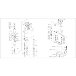 TRUSCO FTR65G用 押えナット 〔品番:FTR-094〕[4148606]