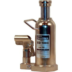 イーグル クリーンルームレバー回転油圧ジャッキ能力10t 〔品番:ED-100C〕[4560159]1650