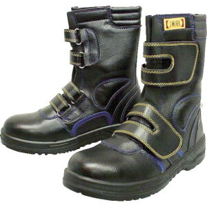 おたふく 安全シューズ静電半長靴マジックタイプ 24.5cm 〔品番:JW-773-245〕[4785614]