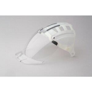 ミドリ安全 ヘルメット 交換用シールド面 SC−15PCLNS用 〔品番:4007100931〕[4803523]