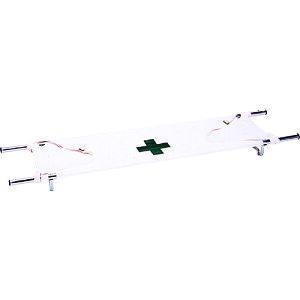 タニザワ 折りたたみ式担架 〔品番:ST-616-2〕[5196051]「送料別途見積り,法人・事業所限定,直送」