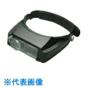池田レンズ 双眼ヘッドルーペ 補助レンズ付 〔品番:BM-120DE〕[8051766]「送料別途見積り,法人・事業所限定,取寄」