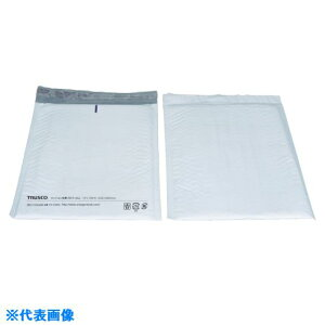 TRUSCO クッション封筒 クラフト紙 190×175mm 10枚入パック 〔品番:TCF-190〕[8189477]