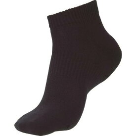 ミドリ安全 安全靴用靴下 強フィットソックス ショートタイプ ブラック 〔品番:TFS-02-BK〕[8357374]