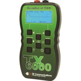 グッドマン TDRケーブル測長機TX6000 〔品番:TX6000〕[8362901]
