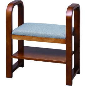 IRIS 512788 玄関椅子 CG−55 ブラウン 〔品番:GC-55-BR〕[8364736]