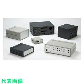 タカチ メタルケース W210×H99×D350 ライトグレー/シルバー 〔品番:MS99-21-35G〕[8503229]「法人・事業所限定,直送元」