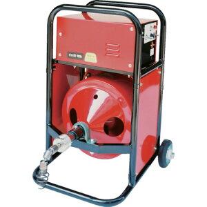 ヤスダ 排水管掃除機FX4型電動12mm×18m 〔品番:FX4-12-18〕[8520824]「法人・事業所限定,直送元」