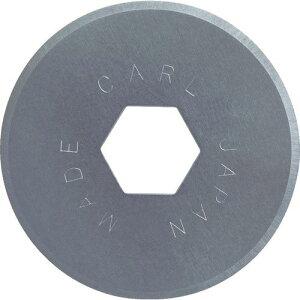 カール ディスクカッター替刃(丸刃フッ素コート) K−18 〔品番:K-18〕[8553244]