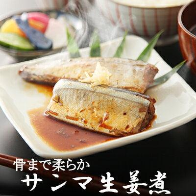 さんま生姜煮【5パック入】【煮魚 魚 惣菜 冷凍食品】
