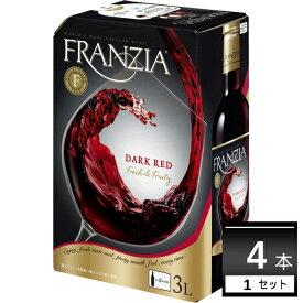 メルシャン フランジア ダ−クレッド バック・イン・ボックス 3L×4箱【送料無料※一部地域は除く】