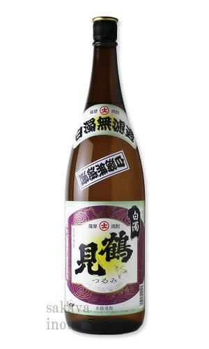 白濁無濾過 鶴見 1800ml 【芋焼酎/大石酒造/つるみ】