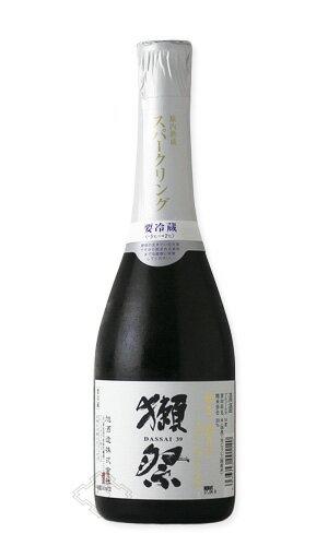 獺祭 磨き三割九分 スパークリング 360ml 【日本酒/旭酒造/だっさい】【要冷蔵】お一人様12本まで。