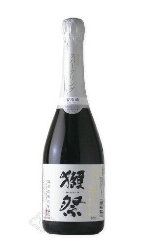 獺祭 磨き三割九分 スパークリング 720ml 【日本酒/旭酒造/だっさい】【要冷蔵/クール便】お一人様6本まで。