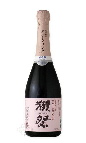獺祭 スパークリング50 720ml 【日本酒/旭酒造/だっさい】【要冷蔵】お一人様6本まで。