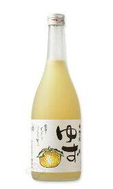 梅乃宿 ゆず酒 720ml 【和リキュール/梅乃宿酒造/うめのやど】