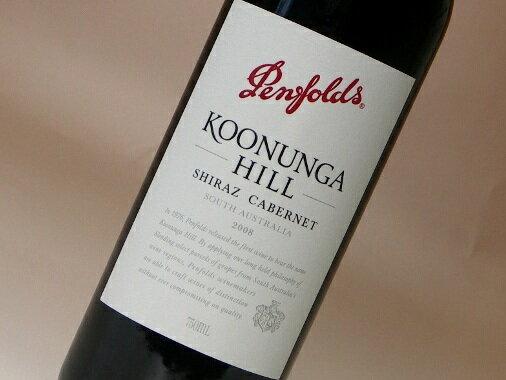 ペンフォールド クヌンガ ヒル シラーズ・カベルネ 750ml (ワイン) 【SC】 【wineday】