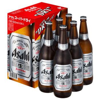 [ビールギフト]アサヒ スーパードライ大瓶6本詰 EX-6 【通年】【お中元】
