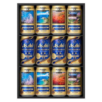 [ビールギフト]アサヒ ドライプレミアム 豊醸 日本の世界遺産 デザイン 缶ビ−ルセット SPD-3 【11asaosb13】