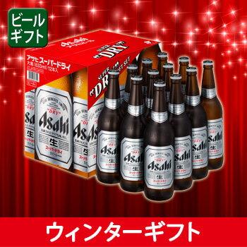 [ビールギフト]アサヒ スーパードライ大瓶12本詰 EX-12 【PS】