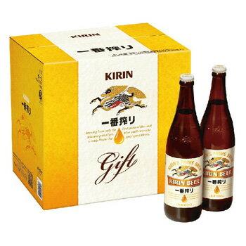 [ビールギフト] キリン 一番搾り 大瓶 K-ISB12