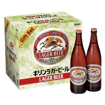[ビールギフト]キリン ラガー 大瓶12本詰ギフトセット K-NRLB12